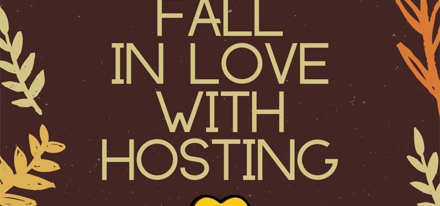 Fall in love with hosting parties
