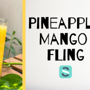 pineapple mango fling cocktail