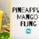 pineapple mango fling cocktail