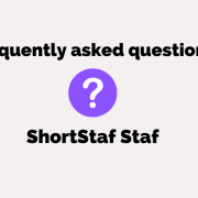 Staf FAQ: How to use ShortStaf