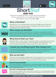 Host FAQ: How to use ShortStaf